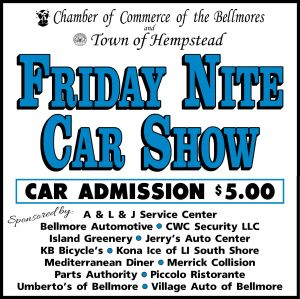 Bellmore Chamber of Commerce Friday Night Car Show